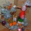 Подарочная корзина к Новому году №22 с доставкой в Киеве
