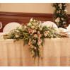 Композиция на стол жениха и невесты №2 с доставкой в Киеве