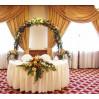 Украшение стола жениха и невесты недорого №1