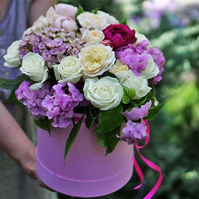 Заказ цветов с доставкой в Киеве
