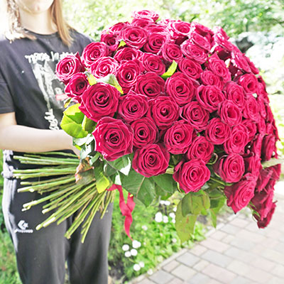 Bouquet of flowers delivery Kiev