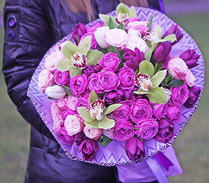 Online flowers delivery to Kyiv