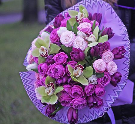 Доставка цветов Киев Левобережная