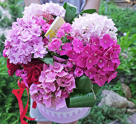 Ordering and delivery flowers to Kyiv