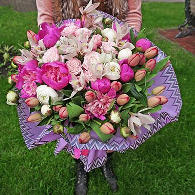 Заказать доставку цветов Киев