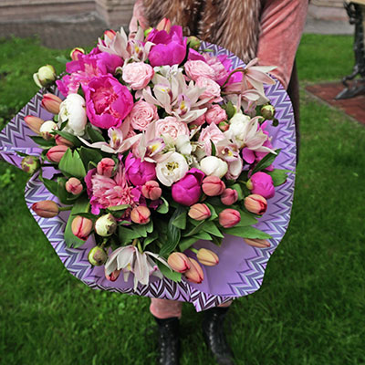 Order flowers online with delivery