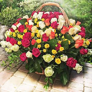 Заказ и доставка цветов в Киеве круглосуточно