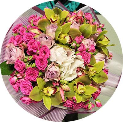 Flower delivery in Kyiv, metro Heroes of Dnepr, m Minsk, Obolon