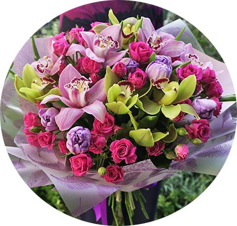 Купить цветы Киев доставка