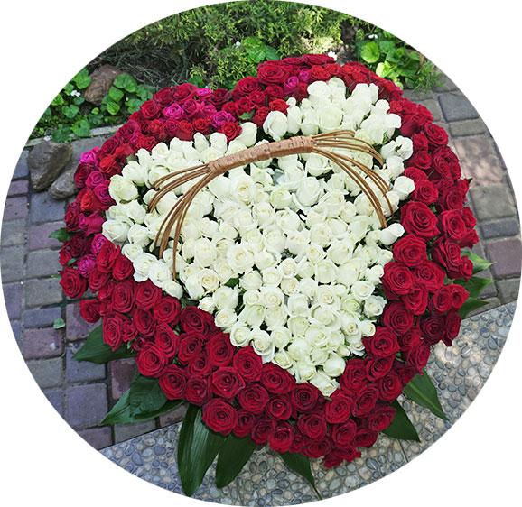 Адресная доставка цветов Киев