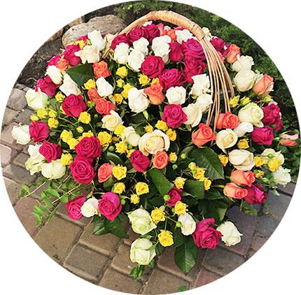 Доставка цветов Киев круглосуточно