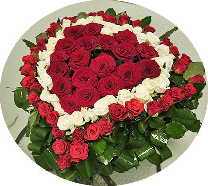 Order flowers to Kiev around the clock