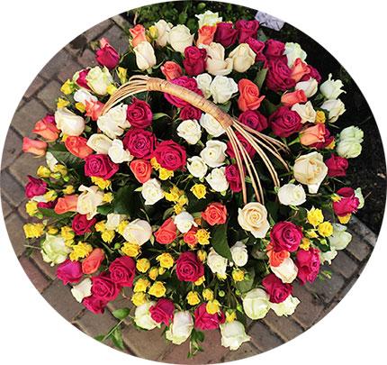 Доставка цветов ЖК Демеевский Квартал, Orange City