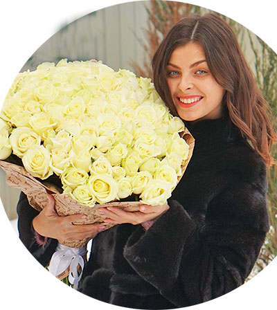 Bouquets delivery ordering