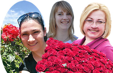 About us: flower delivery service in Kiev Kvitochka