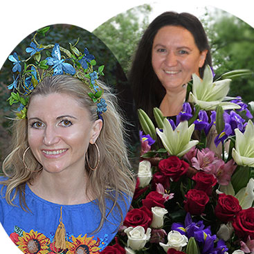 About us: online flower delivery shop Kiev Kvitochka