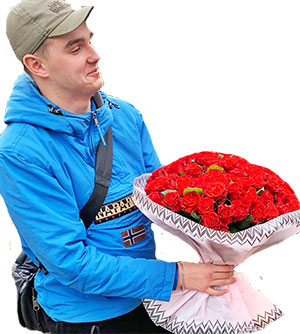 О нас: About us: a flower delivery company in Kiev and the region Kvitochka