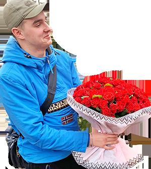 О нас: компания по доставке цветов по Киеву и области Kvitochka